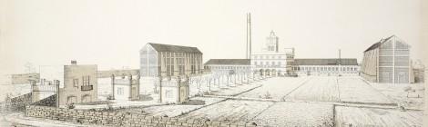 La construcció de la fàbrica