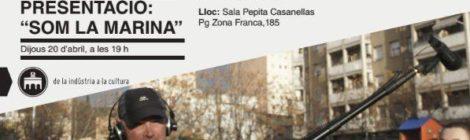 Presentació de 'Som la Marina' a la Sala Pepita Casanellas