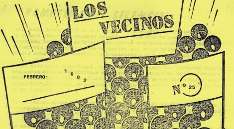 """""""Los vecinos"""", revista de l'AV de Nostra Senyora de Port"""