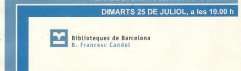 Passi de 'Som la Marina' a la Biblioteca Francesc Candel