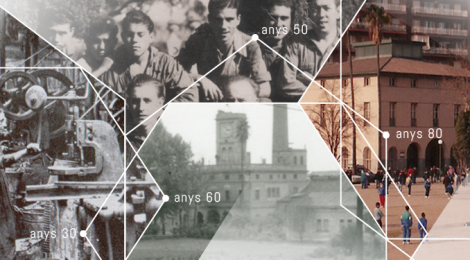 Cronologia del projecte casa del rellotge 1855-2014, de la industria a la cultura